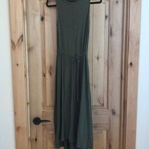 The Limited Olive Green Dress